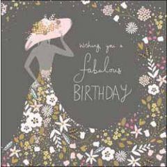 verjaardagskaart woodmansterne - wishing you a fabulous birthday