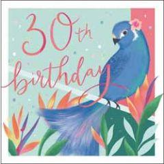 30 jaar - verjaardagskaart woodmansterne - 30th birthday