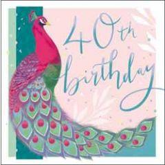40 jaar - verjaardagskaart woodmansterne - 40th birthday