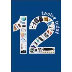 12 jaar - verjaardagskaart woodmansterne - twelve today - popcorn, voetbal