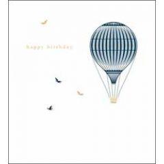 verjaardagskaart woodmansterne - happy birthday - luchtballon