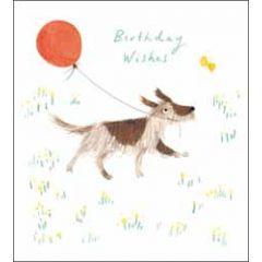 verjaardagskaart woodmansterne - happy birthday - hond