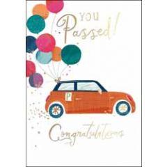 felicitatiekaart rijbewijs - woodmansterne - you passed! congratulations