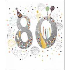 50 jaar - grote verjaardagskaart woodmansterne