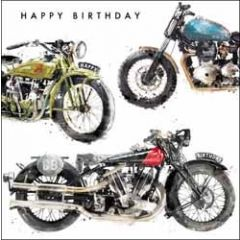 verjaardagskaart just josh - happy birthday - motor