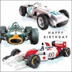 verjaardagskaart just josh - happy birthday - raceauto