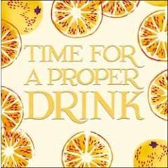 wenskaart emma bridgewater - time for a proper drink - citroen