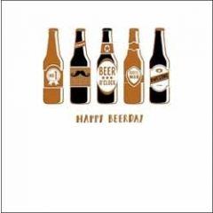 verjaardagskaart woodmansterne alpha - happy beerday