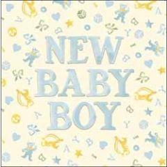 geboortekaart emma bridgewater - new baby boy