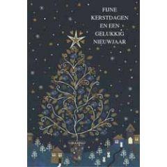 10 luxe kerstkaarten - fijne kerstdagen en een gelukkig nieuwjaar - kerstboom