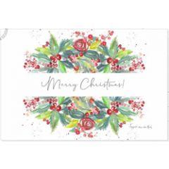 kerstansichtkaart - merry christmas