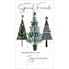 grote luxe kerstkaart - to very special friends