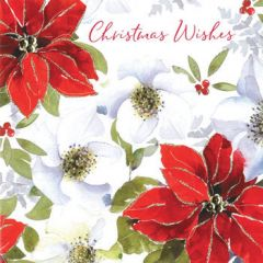 luxe kerstkaart second nature - christmas wishes - kerstster