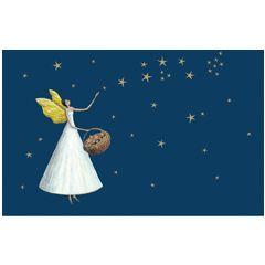 8 kerstkaartjes roger la borde - engel  | muller wenskaarten