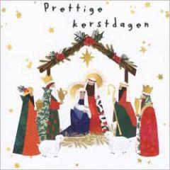 10 christelijke kerstkaarten voor amnesty international - prettige kerstdagen - kerststal
