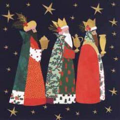10 christelijke kerstkaarten voor amnesty international - drie koningen