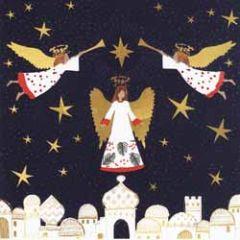 10 christelijke kerstkaarten voor amnesty international - engelen