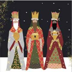 10 christelijke kerstkaarten voor amnesty international - 3 koningen wijzen
