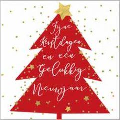 10 kerstkaartjes piano - fijne kerstdagen en een gelukkig nieuwjaar - kerstboom