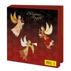 10 kerstkaarten voor amnesty international - Christmas Angels