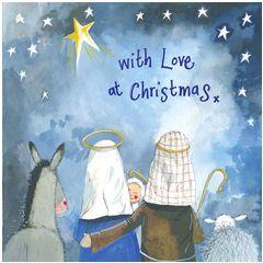 5 kerstkaarten alex clark - with love at christmas