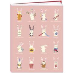 luxe schrift notitieboek van camille chaussy - lapin croyable - geweldig konijn