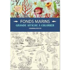 kleurposter A2 gwenaelle trolez - zeedieren