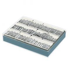 set van 9 koelkastmagneten voor amnesty international - grachtenpanden