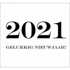 10 nieuwjaarskaarten muller wenskaarten - 2021 gelukkig nieuwjaar!