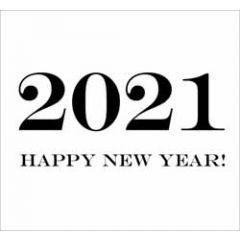 10 nieuwjaarskaarten muller wenskaarten - 2021 happy new year!