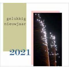 10 nieuwjaarskaarten muller wenskaarten - 2021 gelukkig nieuwjaar - vuurwerk