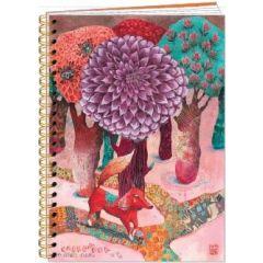 notitieboek a5 izou - vos