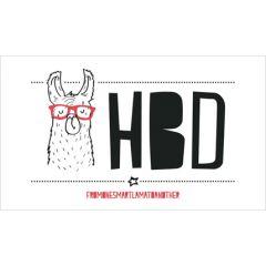 verjaardagskaart - HBD fromonesmartlamatoanother - lama
