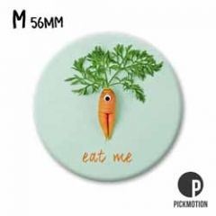 koelkastmagneet pickmotion - eat me - wortel