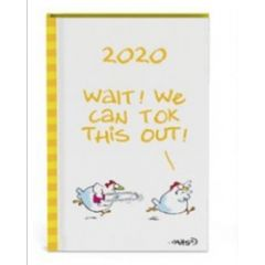 mini agenda 2020 - vis - kippen geel - we can tok this out