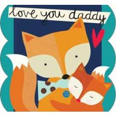 vaderdagkaart caroline gardner - love you daddy
