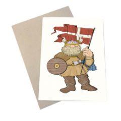 wenskaart mouse & pen - viking