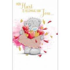 wenskaart me to you - love mail - mijn hart is helemaal van jou