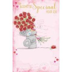 wenskaart me to you - love mail - een bloemetje speciaal voor jou
