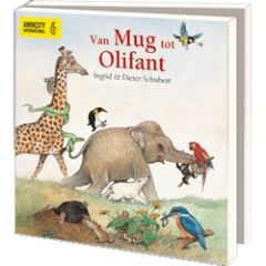 10 wenskaarten voor amnesty international - van mug tot olifant - Ingrid & Dieter Schubert