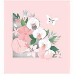 wenskaart the proper mail company - orchideeën - bloemen