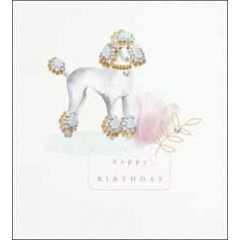 verjaardagskaart the proper mail company - happy birthday - poedel hond