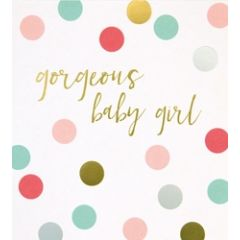 geboortekaartje caroline gardner spot on - gorgeous baby girl