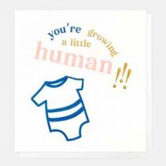 zwangerschapskaart caroline gardner - you are growing a little human