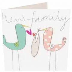 geboortekaartje caroline gardner - new family
