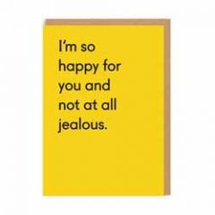wenskaart ohh deer - I'm so happy for you and not at all jealous