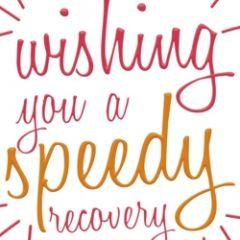 beterschapskaart caroline gardner - neon - wishing you a speedy recovery