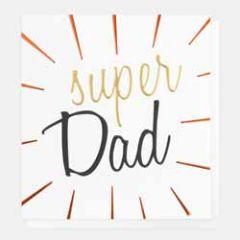 wenskaart caroline gardner - super dad
