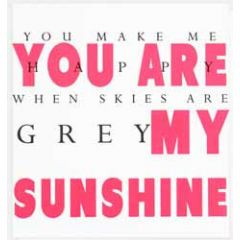 wenskaart caroline gardner - you are my sunshine