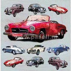 wenskaart - klassieke auto's